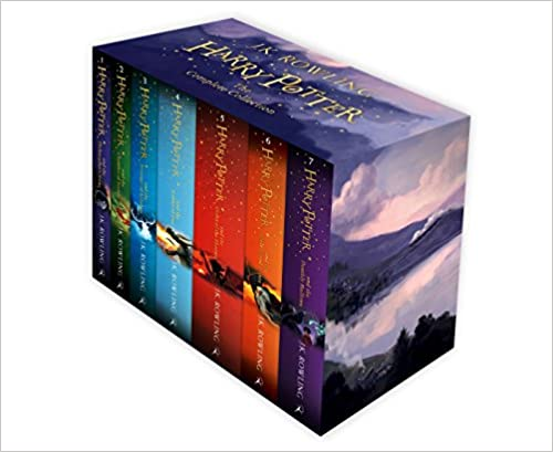 Harry Potter Box Set: The Complete Collection (Set of 7 Volumes)