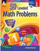 50 Leveled Math Problems Level 1