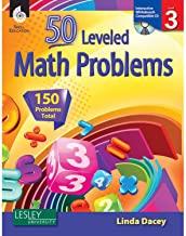 50 Leveled Math Problems Level 3