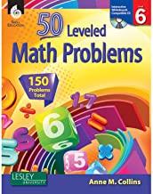 50 LEVELED MATH PROBLEMS LEVEL 6