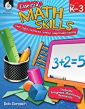 Essential Math Skills Levels PreK-3