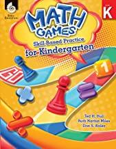 Math Games Skill-Based Practice for Kindergarten