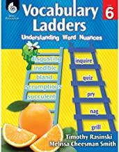 Vocabulary Ladders Level 6