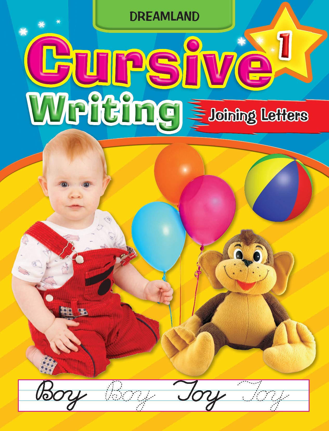 Cursive Writing Book (Joining Letters Part 1)