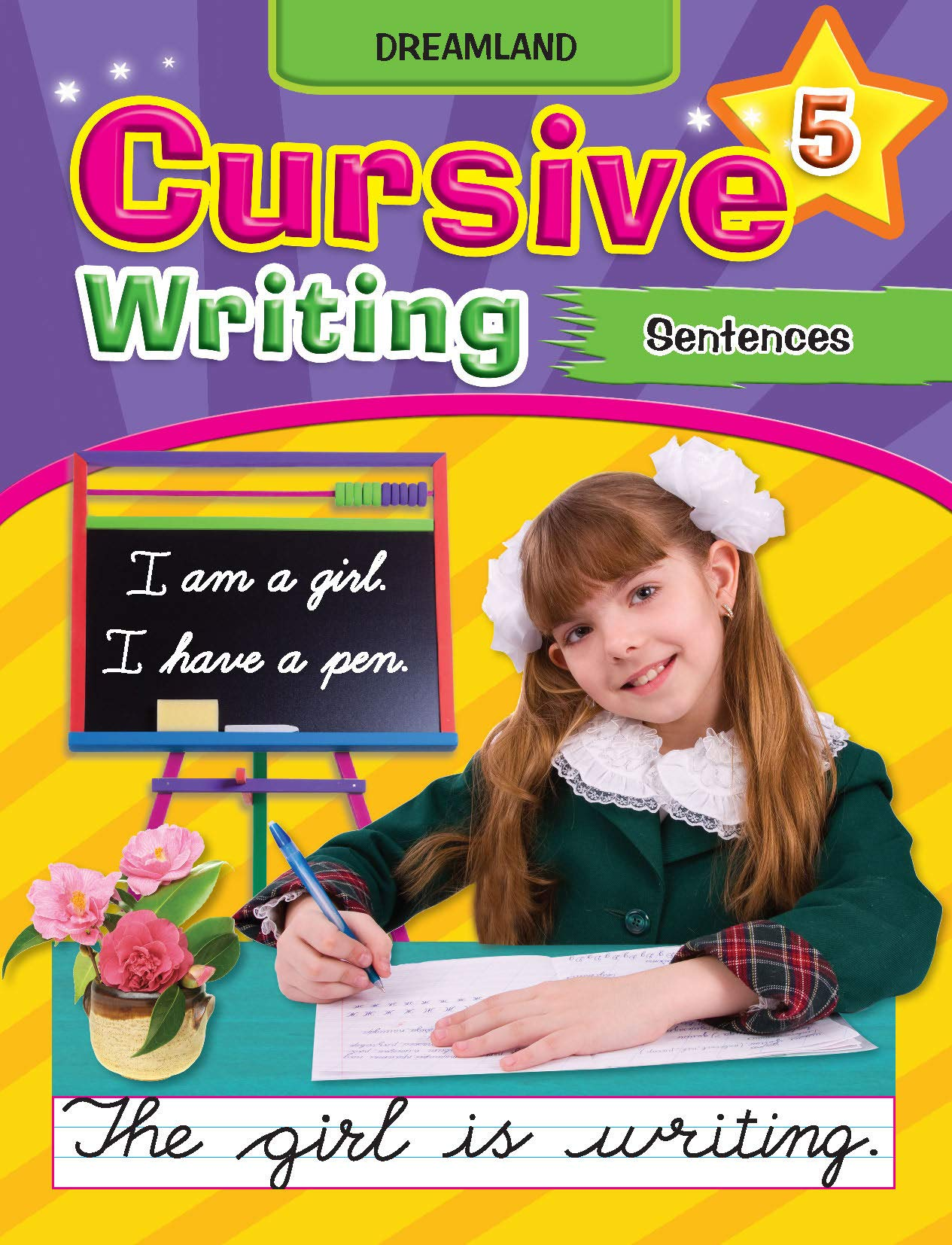 Cursive Writing Book (Sentences Part 5)