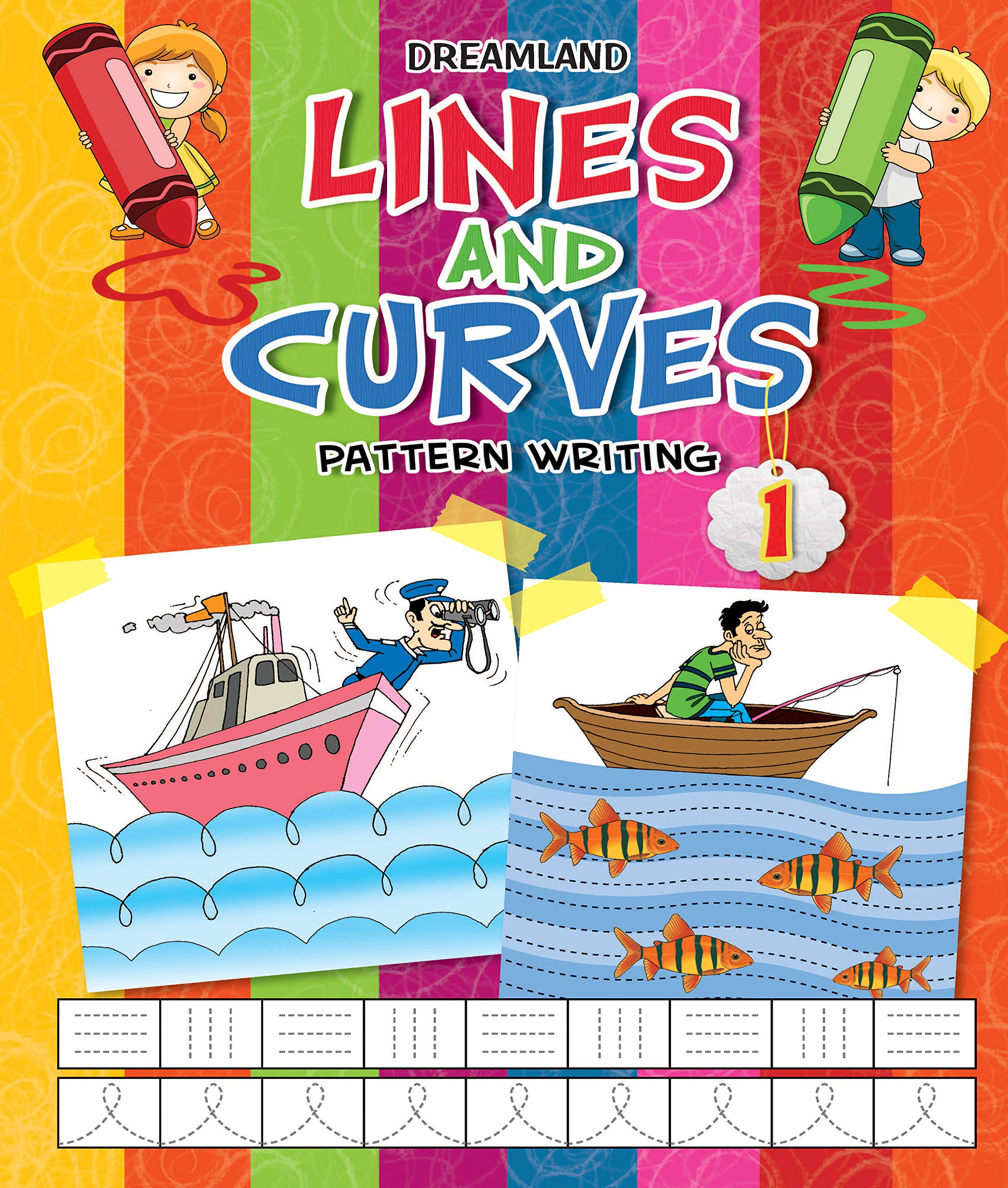 Lines and Curves (Pattern Writing Part 1 )