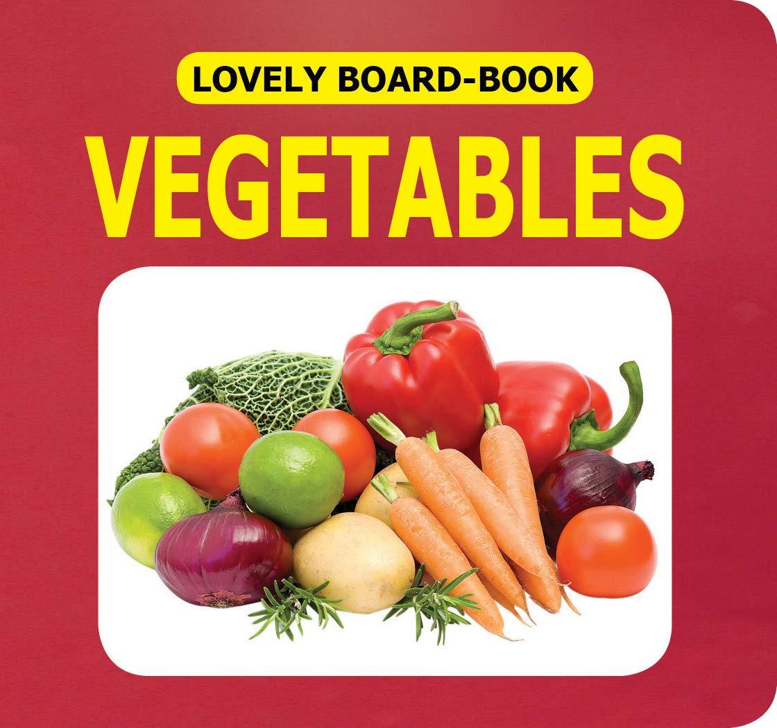 Lovely Board Books - Vegetables
