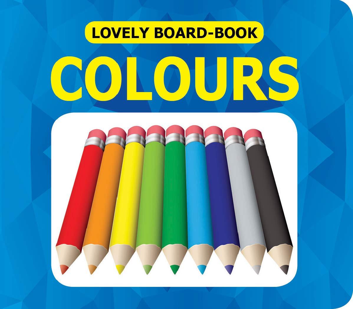 Lovely Board Books - Colours
