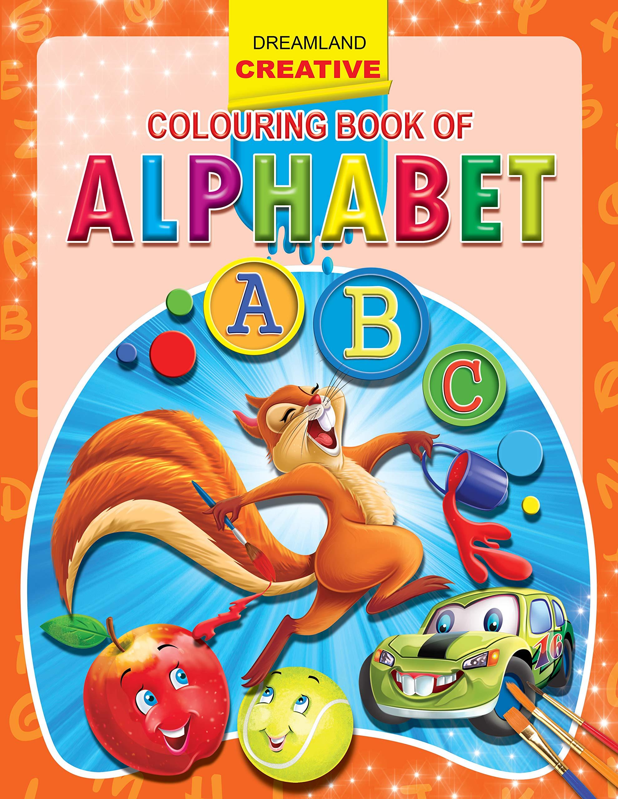 Alphabet (Creative Colouring Books)