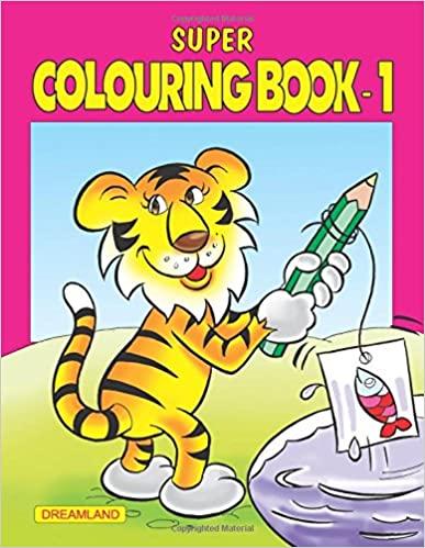 SUPER COLOURING BOOK PART - 1