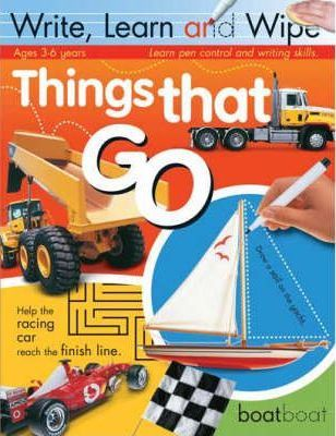 THINGS THAT GO (WRITE, LEARN AND WIPE)