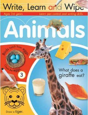 ANIMALS (WRITE, LEARN AND WIPE)
