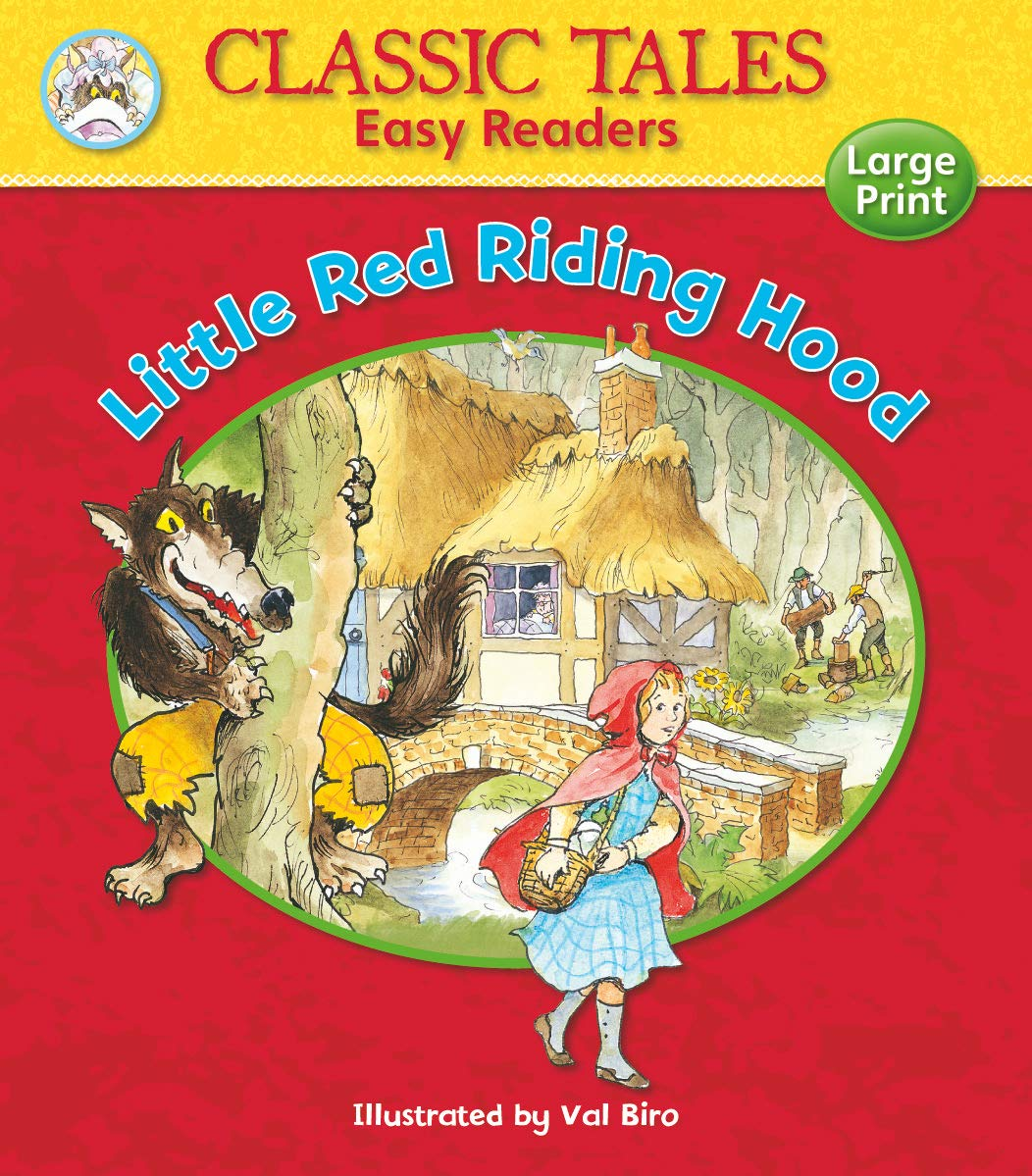 LITTLE RED RIDING HOOD (CLASSIC TALES EASY READERS)