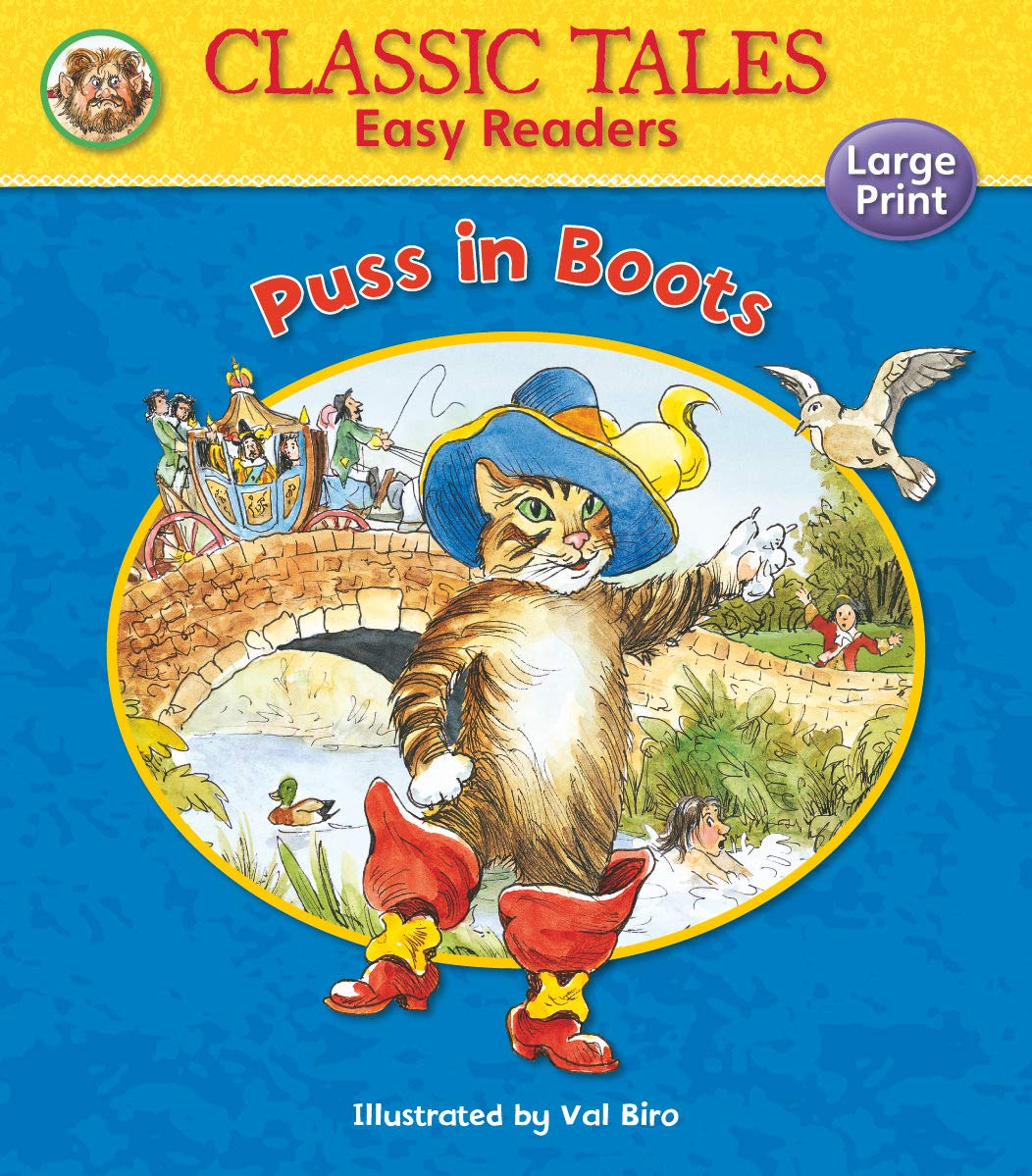 PUSS IN BOOTS (CLASSIC TALES EASY READERS)