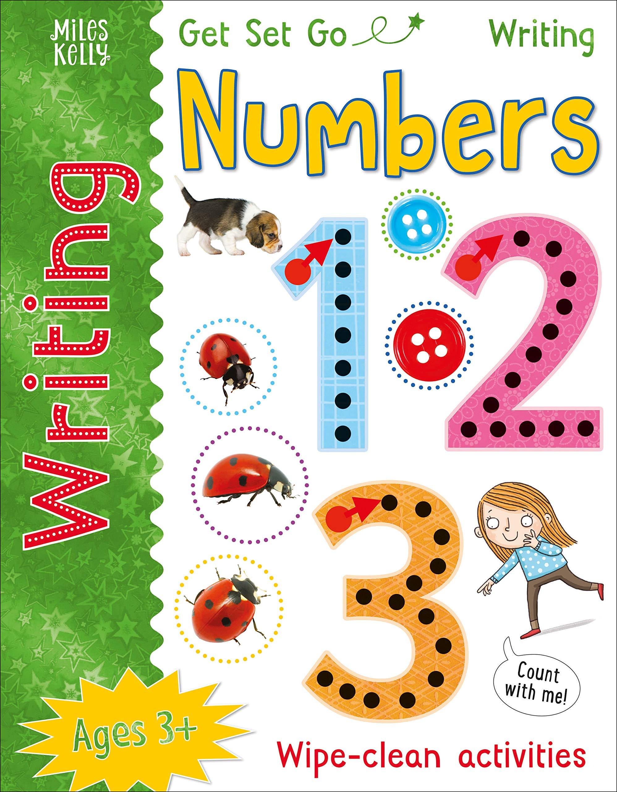 GSG WRITING NUMBERS (GET SET GO WRITING)