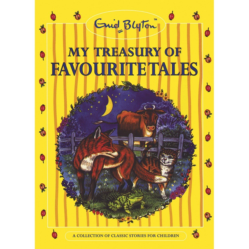 MY TREASURY OF FAVOURITE TALES (YELLOW)