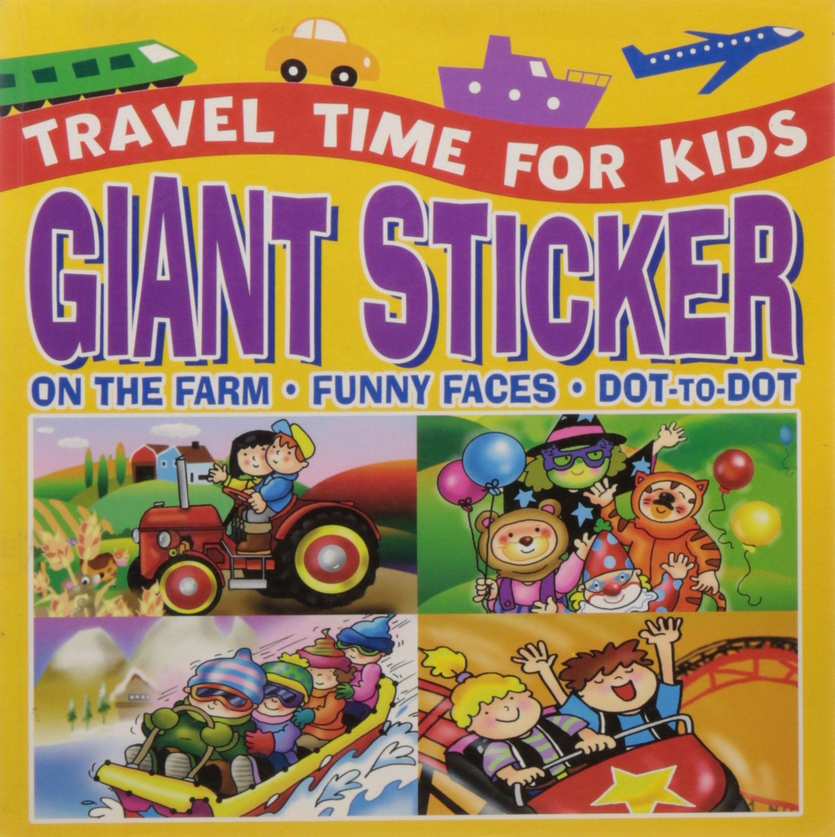 Giant Sticker (Travel Time for Kids)