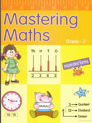 Mastering Math : Grade - 2