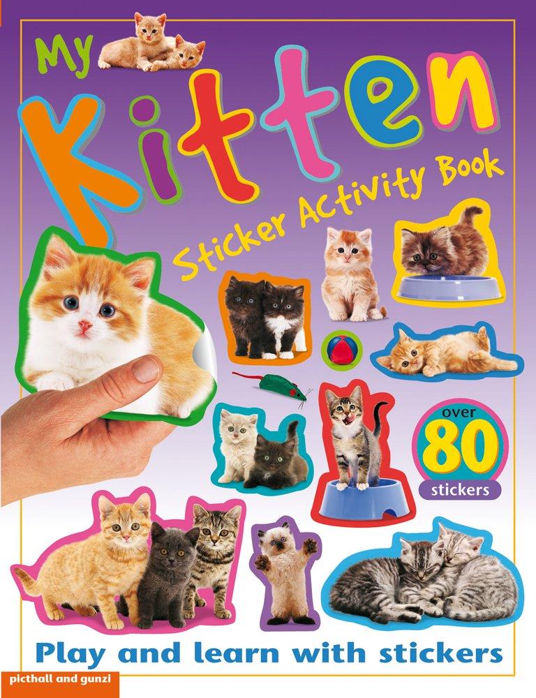 MY KITTEN STICKER ACTIVITY BOOK (STICKER ACTIVITY BOOKS)