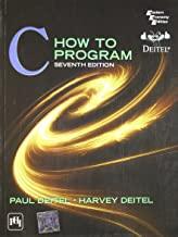 C HOW TO PROGRAM 7/EDITION