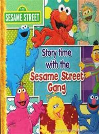 Story time with the Sesame Street Gang