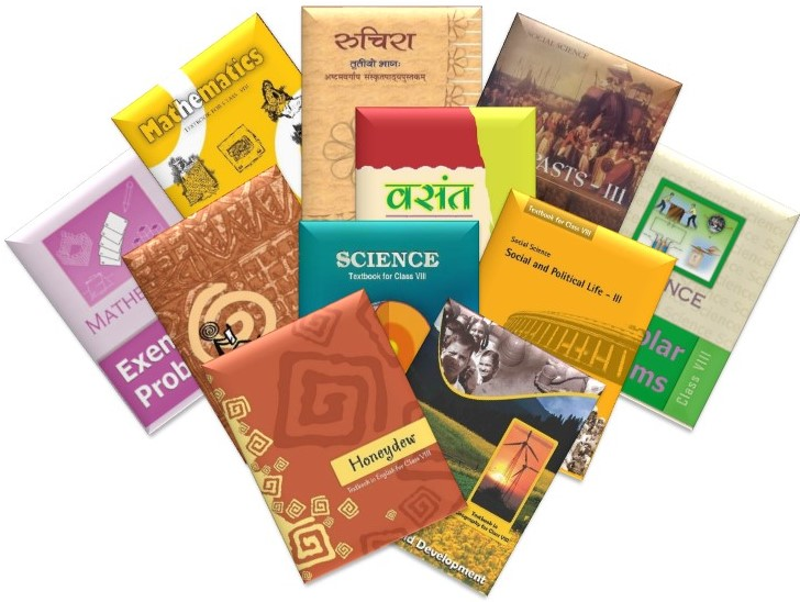 NCERT TEXTBOOKS - CLASS 8 (SET OF 11 BOOKS)