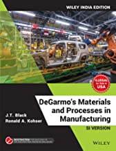 Degarmo Materials And Process In Manufacturing