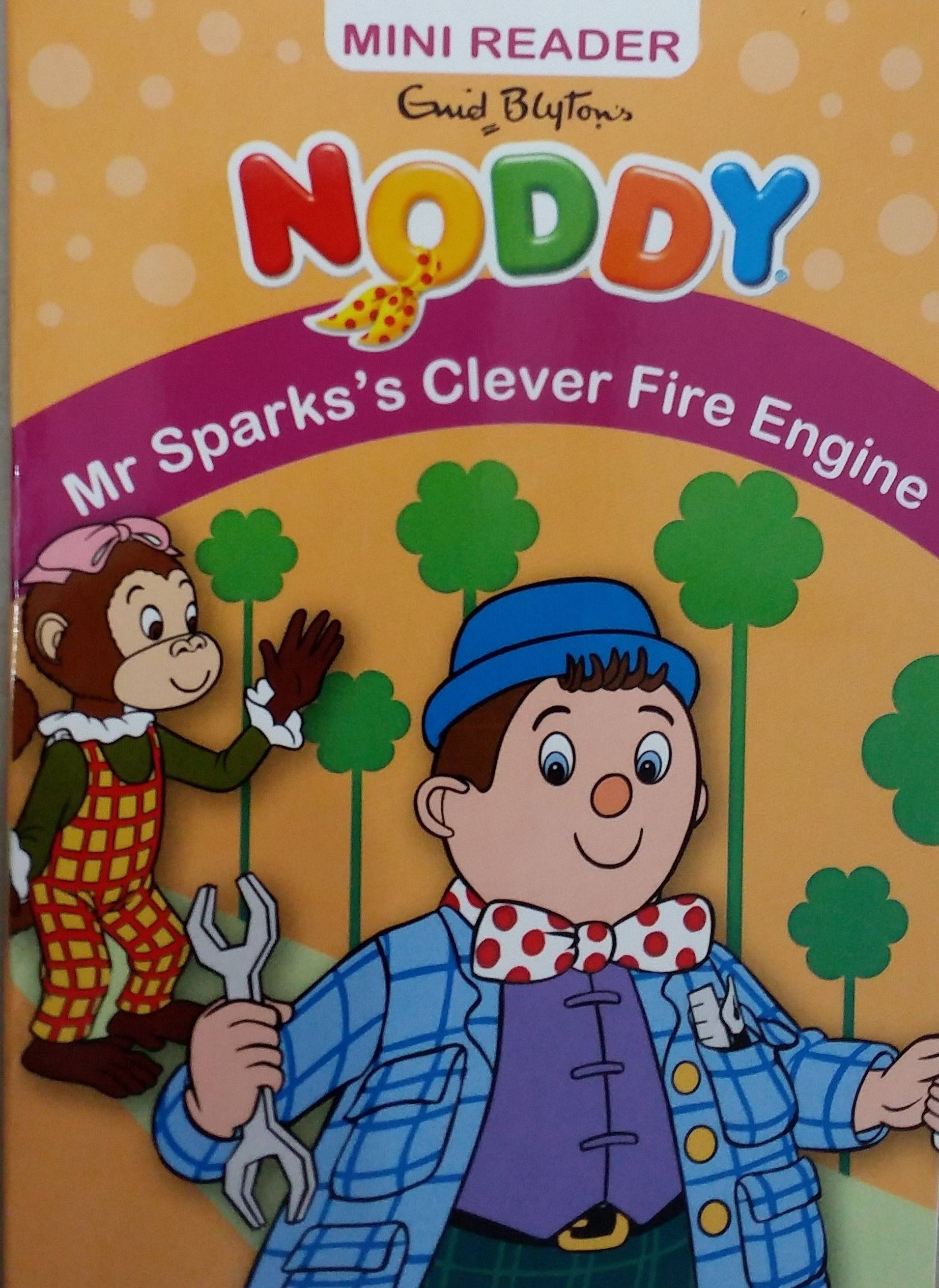 NODDY MINI READER MR SPARK'S CLEVER FIRE ENGINE