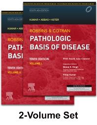 ROBBINS AND COTRAN PATHOLOGIC BASIS OF DISEASE (2 VOLS SET), 10TH EDITION SOUTH ASIA EDITION