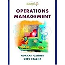 Operations Management With Cd Gaither