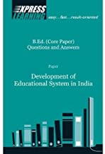 DEVELOPMENT OF EDUCATIONAL SYSTEM IN INDIA, 1E