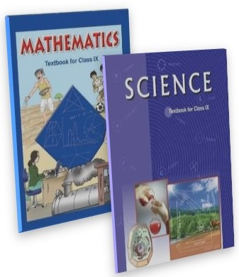 SCIENCE & MATHEMATICS TEXT BOOK COMBO PACK CLASS - 9TH