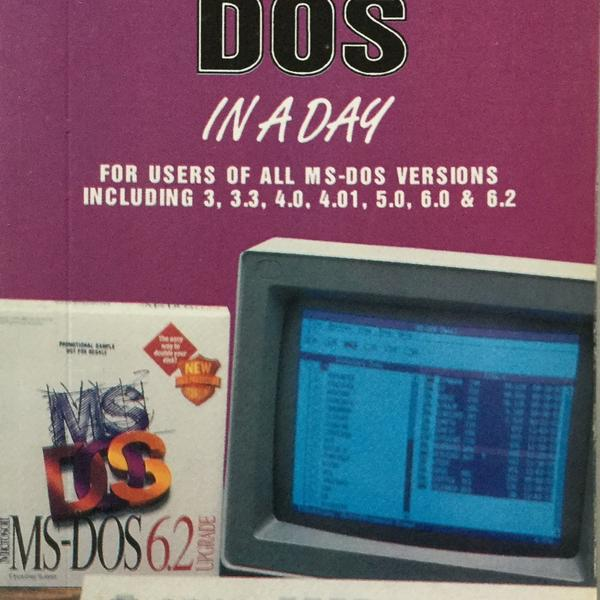 Learn DOS 6.2 in a Day