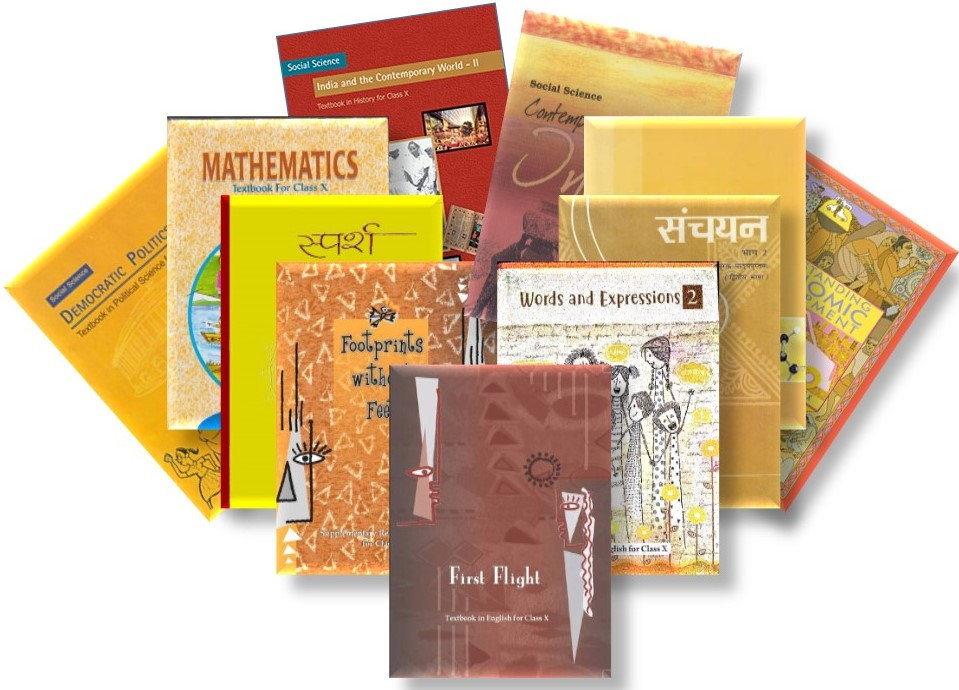 NCERT TEXTBOOK SET OF 11 BOOKS FOR CLASS - 10