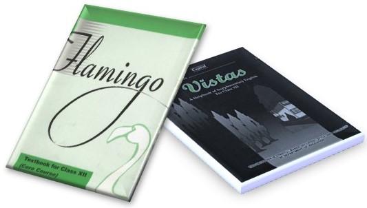 NCERT English Text Book Combo Pack Class - 12th (Vistas and Flamingo)