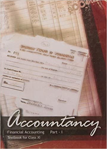 Accountancy Financial Accounting Part - 1 Textbook for Class - 11