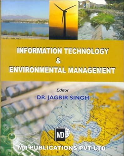 INFORMATION TECHNOLOGY & ENVIRONMENTAL MANAGEMENT