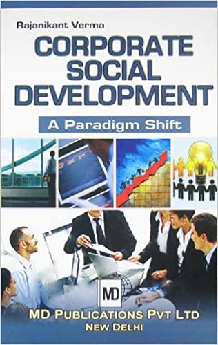 CORPORATE SOCIAL DEVELOPMENT : A PARADIGM SHIFT