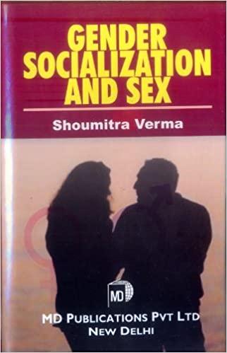 GENDER SOCIALIZATION AND SEX