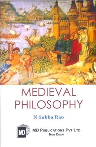 MEDIEVAL PHILOSOPHY