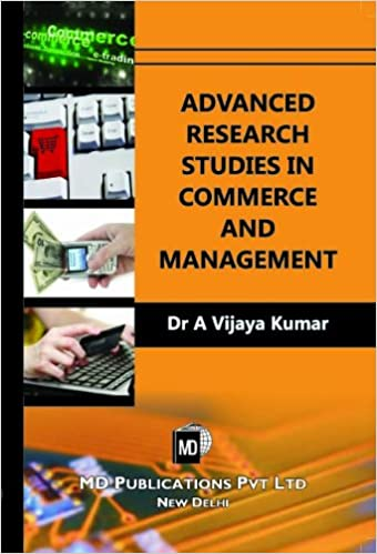 ADVANCED RESEARCH STUDIES IN COMMERCE AND MANAGEMENT