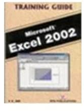 EXCEL 2002 - TRAINING GUIDE