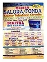 Modern  Salora/Fonda) Colour TV Circuits & Double Colour PCB Layout by Manahar Lotia