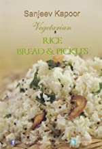 Vegetarian  Rice Bread & Pickles