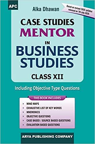 Case Studies Mentor in Business Studies Class- XII