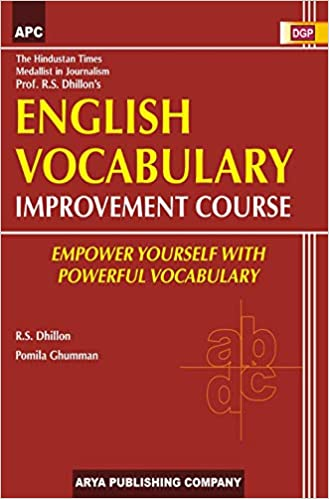 ENGLISH VOCABULARY IMPROVEMENT COURSE
