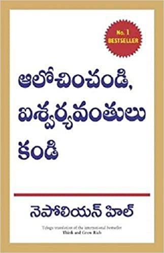 Think and Grow Rich (Telugu)