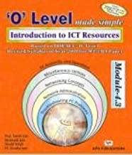 O' LEVEL MADE SIMPLE INTRODUCTION TO ICT RESOURCES  M-4.3-R4)