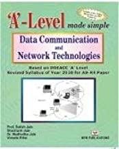'A' LEVEL DATA COMMUNICATION & NETWORK TECHNOLOGIES  A9-R4)