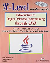 'A' Level Introduction To Object Oriented Programming Through Java  A10.1-R4)